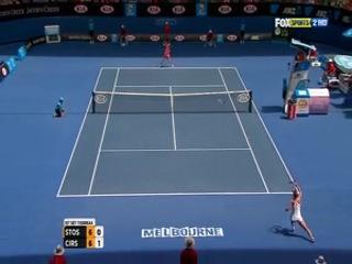 Australian Open 2012 / 1-й круг / Саманта Стосур (Австралия) - Сорана Кырстя (Румыния)
