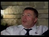 Пьяный Жириновский посылает на хуй Буша.